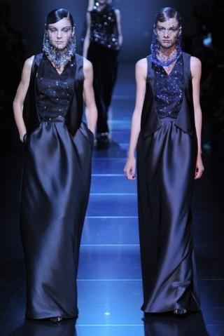 outlet 14 vestidos de fiesta Giorgio Armani 2012