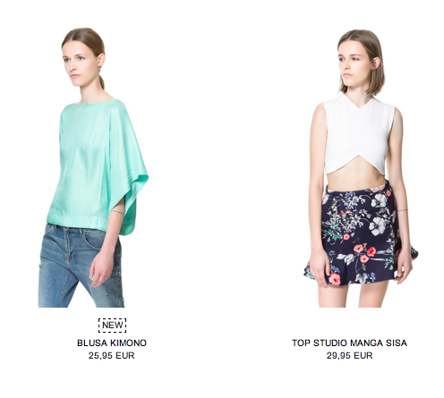 rebajas de verano 2014 en Zara