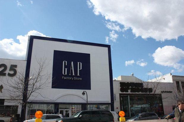 tienda outlet de Gap