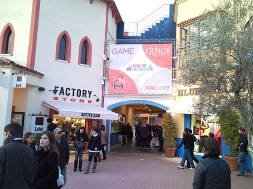 tiendas outlet en el Festival Park Mallorca