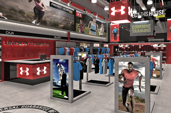 tienda outlet de Under Armour
