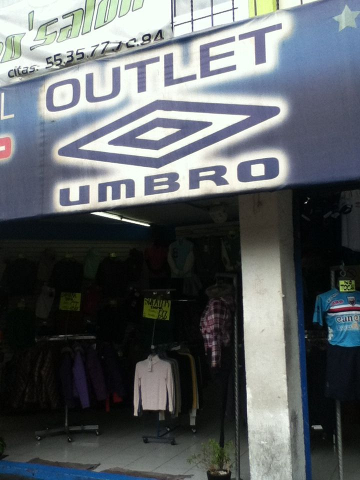 tienda outlet de Umbro