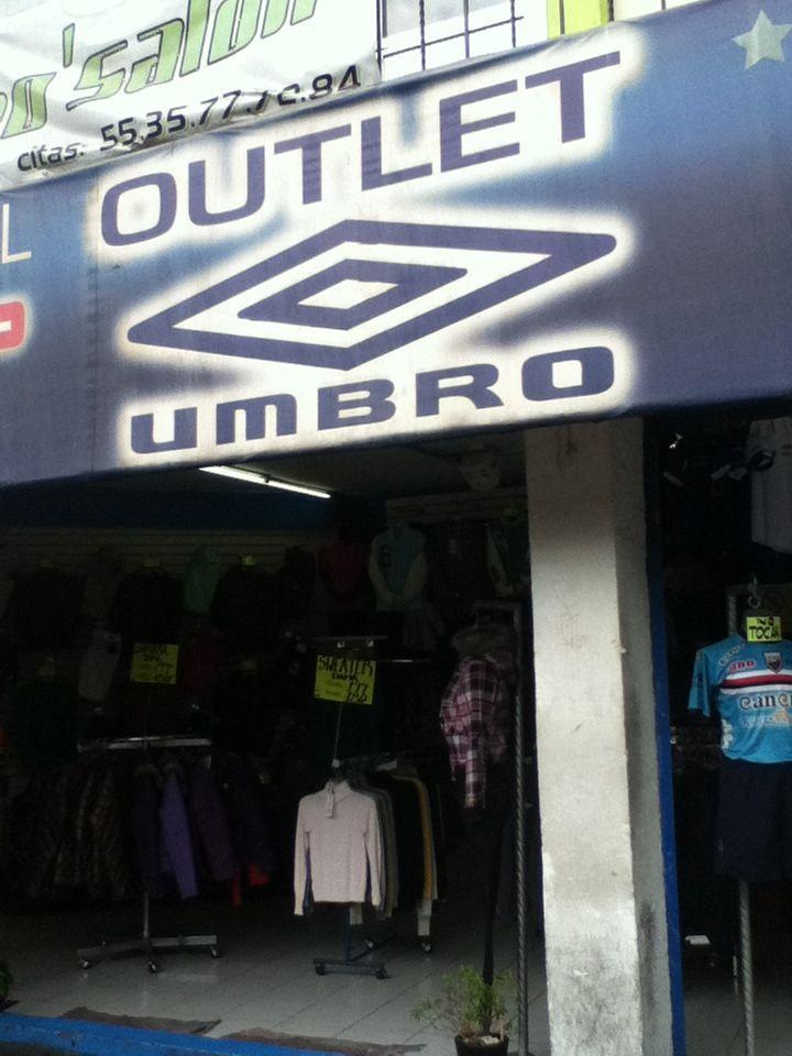tienda outlet de Umbro